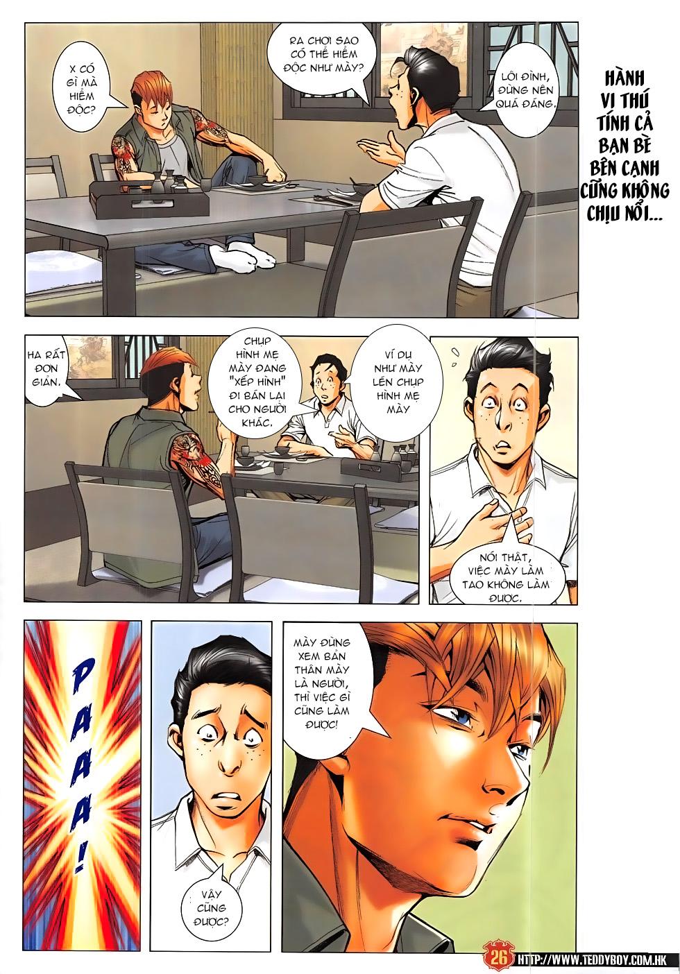 Người Trong Giang Hồ chapter 1865: cha tôi diệu dương 2 trang 25