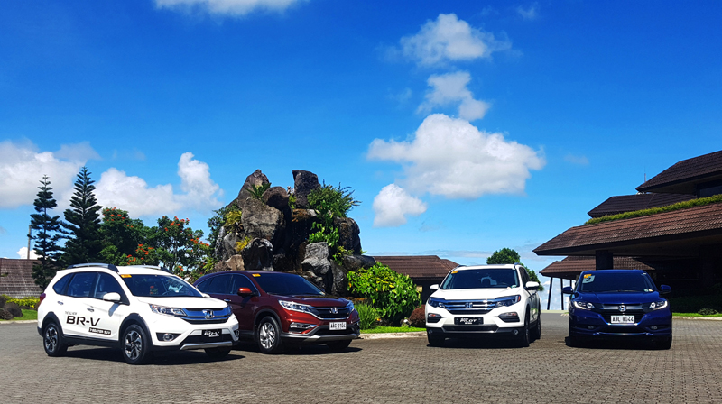 Honda SUV lineup