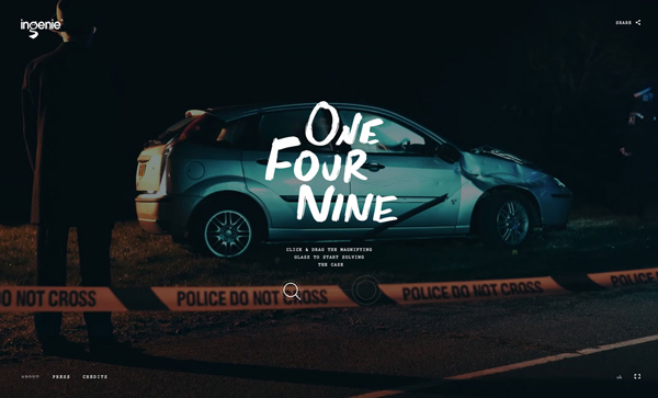 Trend and Inspiration Web Design 2018 - One Four Nine