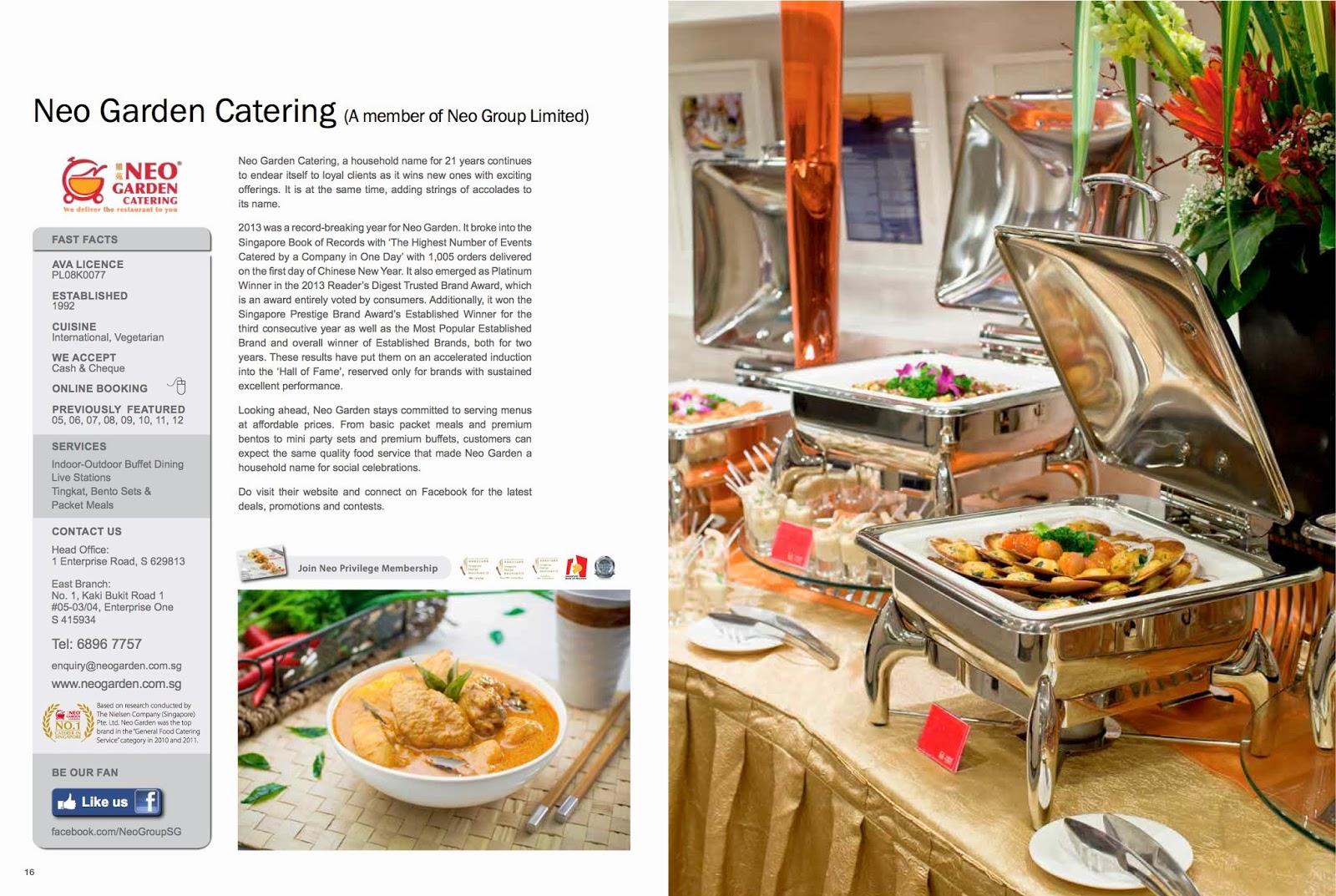 Catering Online Neo Garden Catering