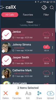 CallX Automatic Call Recorder APK favorites
