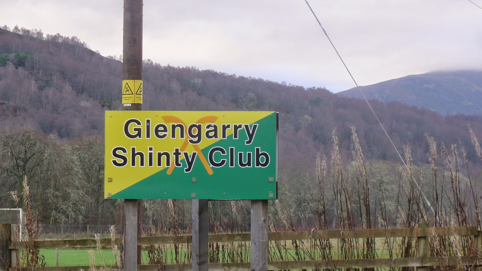 Glengarry Shinty Club, 29 November 2014