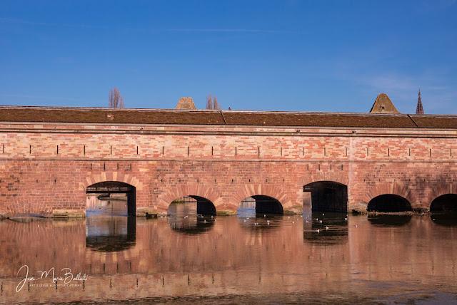 Pont-écluse — Barrage Vauban — (Strasbourg, février 2019)