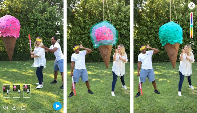 Snapchat added two new features to the app Multi-Snap and Tint Brush. Multi-Snap