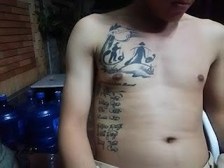 ベトナム人の入れ墨