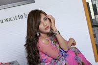 Angela Krislinzki Rogue Movie Fame Telugu Actress in Saree Backless Choli 006.JPG