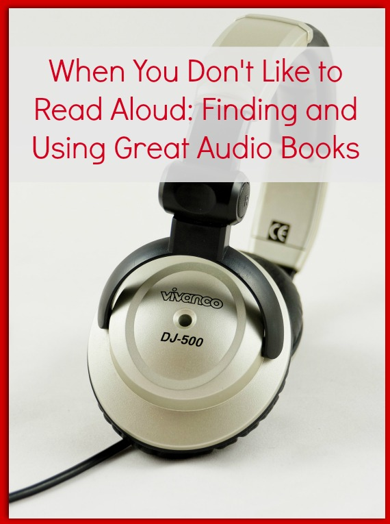 Using audio books for kids