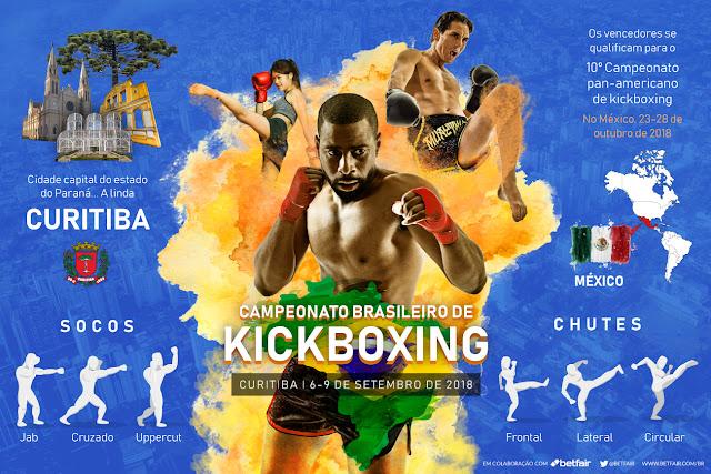 Todas as informações que você precisa antes do Campeonato brasileiro de kickboxing de 2018