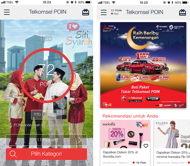 apa fungsi my telkomsel di android dan iPhone
