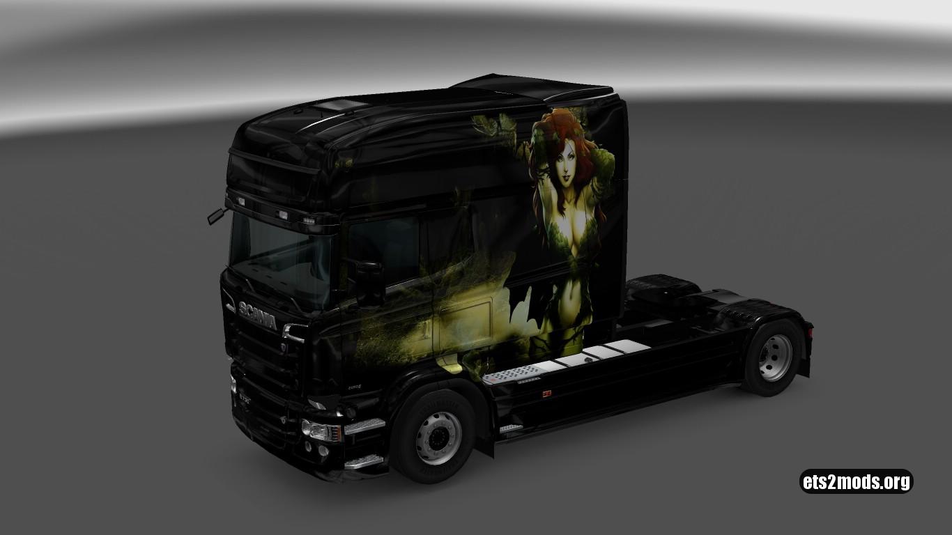 Poison Ivy Skin for Scania RJL Longline