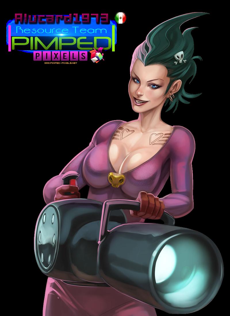 PNG- Bazuka Girl