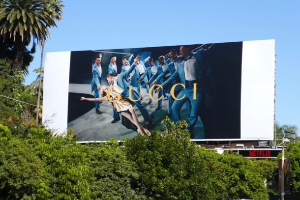 Gucci Spring 2019 dance billboard