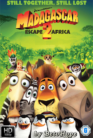 Madagascar 2 [2008] [Latino-Ingles] HD 1080P  [Google Drive] GloboTV