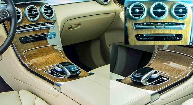 Tựa tay Mercedes GLC 300 4MATIC Coupe 2017 được thiết kế nổi bật với rất nhiều tiện ích