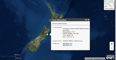 Ισχυρός σεισμός 7,9 Ρίχτερ στην Νέα Ζηλανδία
