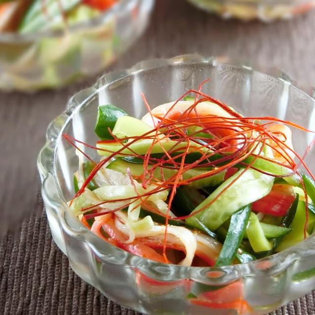 きゅうりとカニカマの簡単でおいしい中華サラダレシピ