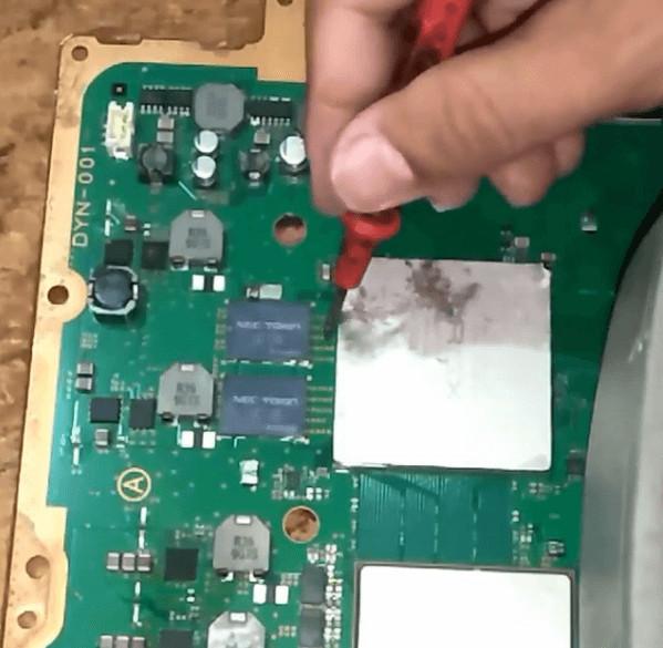 IC RSX PS3 dan cara mendeteksi serta mengukur kerusakannya