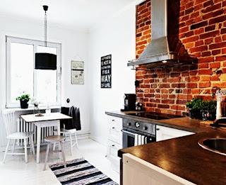 kitchen design modern minimalist by the brick exposed