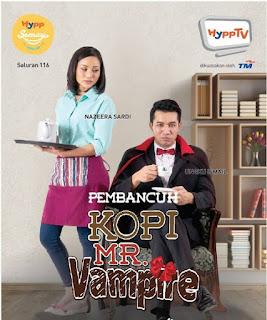 Pembancuh Kopi Mr Vampire karya Aii Fariza sedang bersiaran di HyppTV