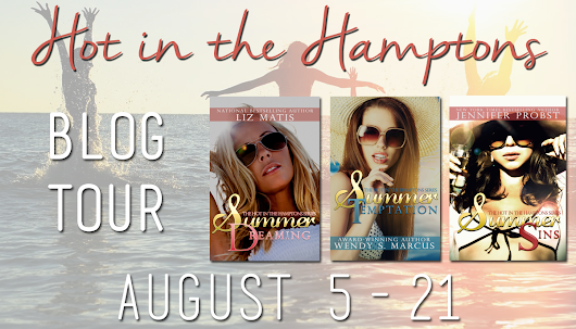 Blog Tour: HOT IN THE HAMPTONS