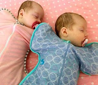 Bayi Peter dan Kate Hill Setelah Lahir