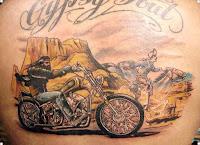 татуировки для байкеров фото