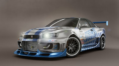 Nissan Skyline GTR R34 Modification Used RB26 Engine