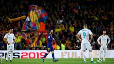 Gareth Bale goal leaves El Clasico in 2-2 draw