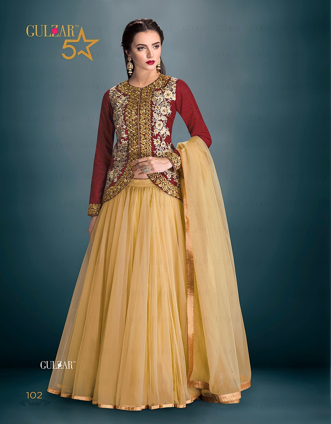 Five Star Latest New Designer Heavy Lehenga Choli Wholesale Designers