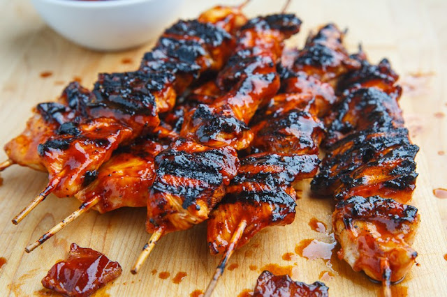 BACON BBQ CHICKEN KEBABS