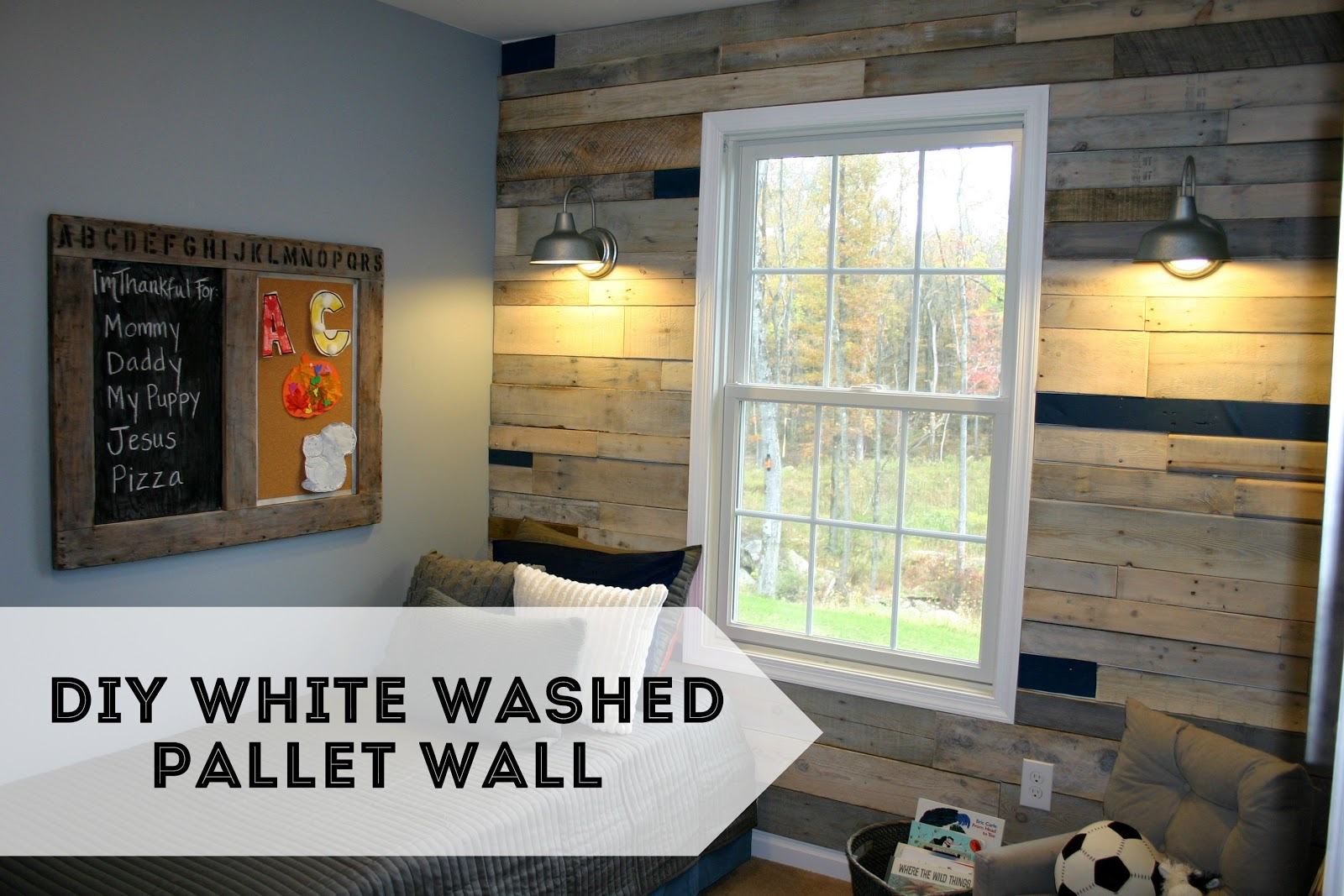 Well This Time We Thought Wed Take It To The Next Level And Do An Entire Wall Of Pallet Wood