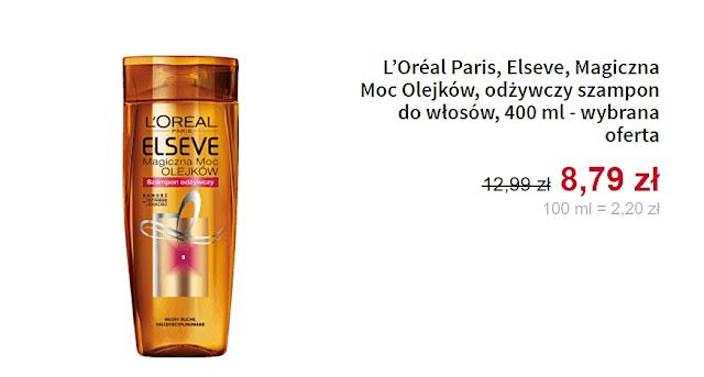 odżywczy szampon do włosów Loreal Paris