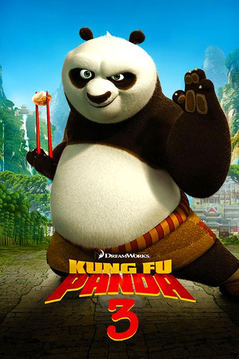 Teaser Poster Kung-Fu Panda 3