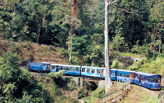 Christmas joy ride in darjeeling diesel toy train