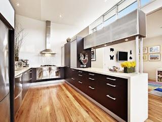 design idea kitchen cabinets minimalist for layout U