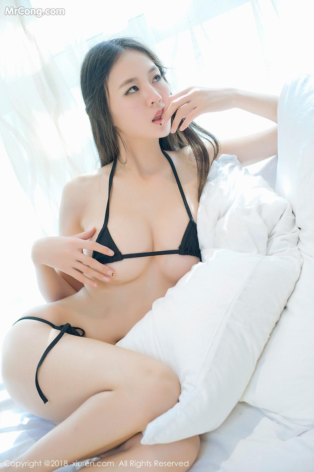 Image XIUREN-No.1003-Mote-Yue-Yue-MrCong.com-004 in post XIUREN No.1003: Người mẫu Mote Yue Yue (模特悦悦) (46 ảnh)