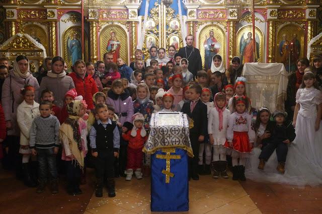 Свято Миколая у недільній школі с.Карпилівка