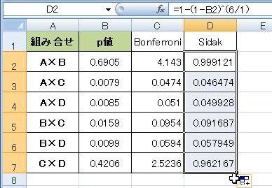 フェローニ 補正 ボン 【統計】Fisher検定で多重比較する場合について