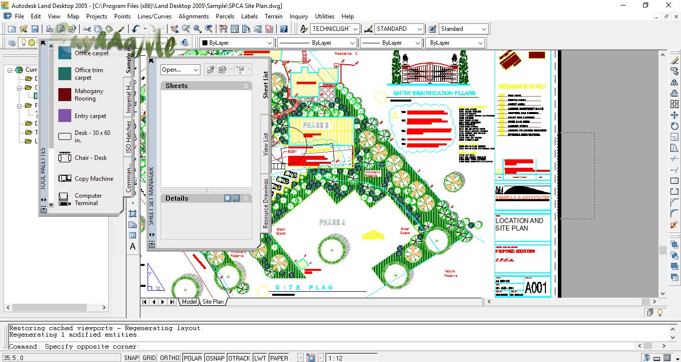 Autodesk Land Desktop 2005