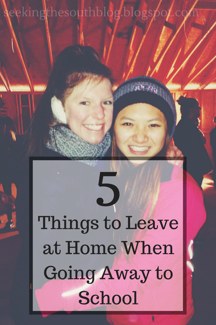 5 Things to Leave at Home When Going Away to School