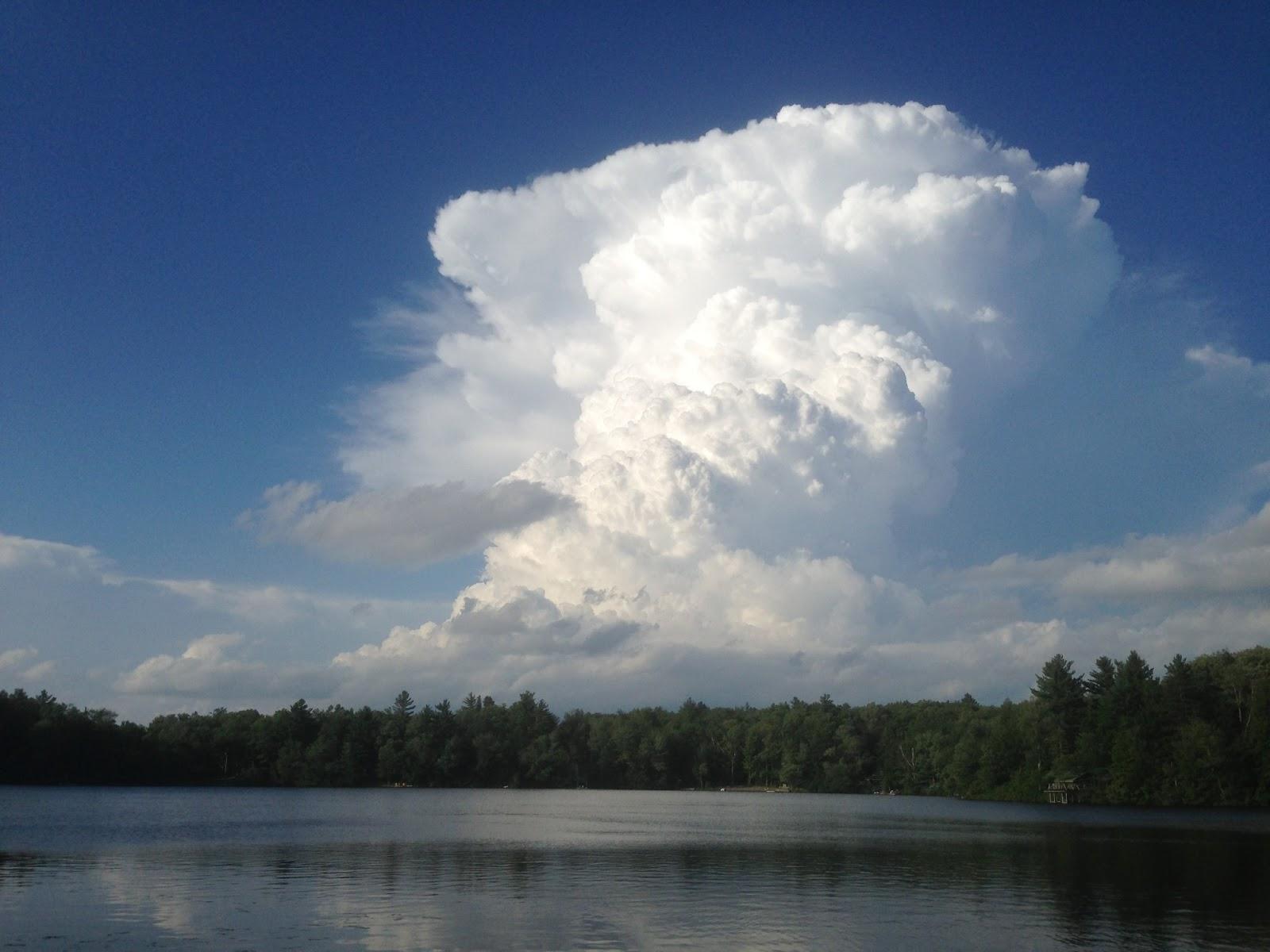 Rensselaer Plateau Life: Cumulonimbus Cloud
