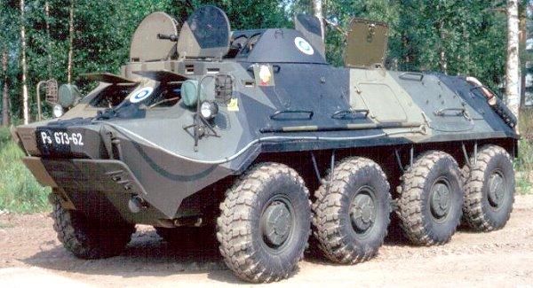 BTR-60PB Veículo Blindado Transporte Pessoal (Soviet State Factories)
