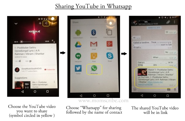 whatsapp youtube
