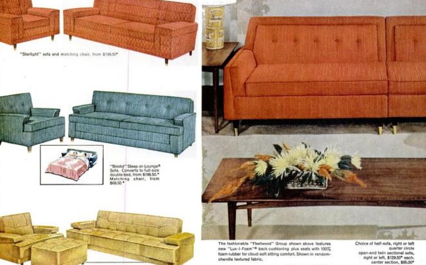 My Pretty Baby Cried She Was A Bird Kroehler Furniture Co Couches