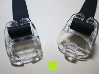 Verschluss auf: »Octopus« Schwimmbrille, 100% UV-Schutz + Antibeschlag + 180° View. Starkes Silikonband + Schnellverschluss + stabile Box. TOP-MARKEN-QUALITÄT! AF-2800 schwarz