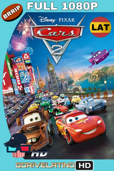 Cars 2 (2011) BRRip 1080p Latino-Ingles MKV