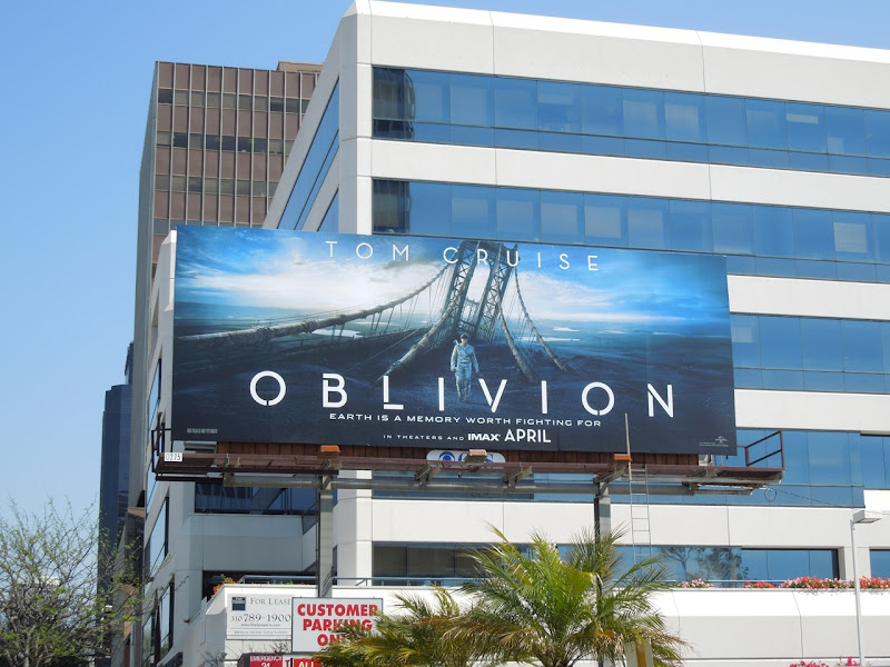 Oblivion film billboard