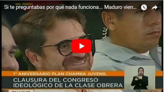 Maduro EMPAVA a Cristano Ronaldo en cadena nacional