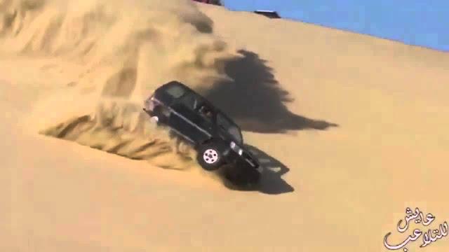 SAUDI WOMEN ALLOWED TO DRIVE: LUCKILY NO TREES IN ARABIA