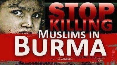 hentikan pembunuhan muslim burma